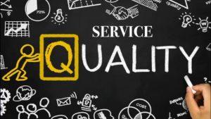 پرسشنامه کیفیت خدمات – بردی و کرونین (۲۰۰۱)